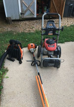 Leaf blower , chrimmer ,power wash , chainsaw for Sale in Alexandria, VA