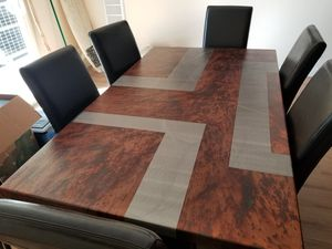 OIOS Metals custom dining room table + chairs for Sale in Denver, CO