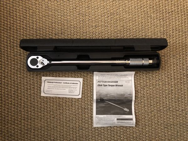 """Torque Wrench 1/2"""" Drive"""