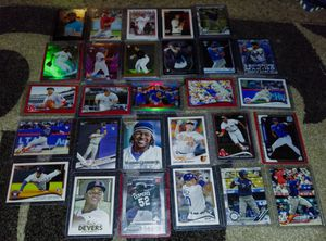 MLB Relevant(Valuable) Rookie Baseball Card Lot for Sale in Tacoma, WA