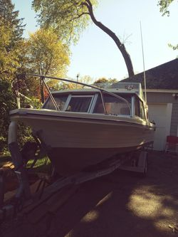 Steury Boat and trailer for Sale in Worcester,  MA