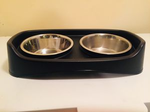 Large dog bowl set for Sale in Whitehall, OH
