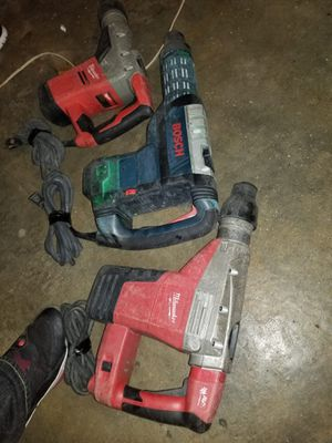 Rotohammers bosch y milwaukee for Sale in Hayward, CA