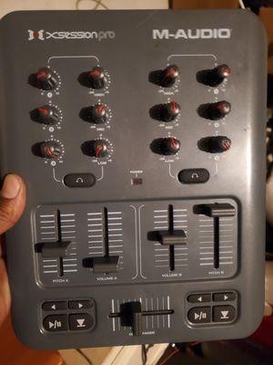 M Audio xsession pro dj mixer for Sale in San Antonio, TX