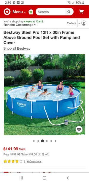 Bestway Steel Pro Pool for Sale in Rancho Cucamonga, CA