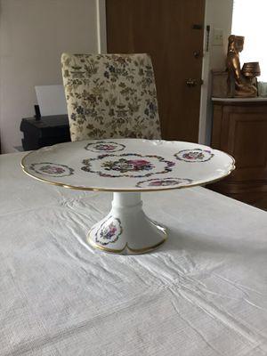 Limoges pedestal cake plate for Sale in Menlo Park, CA