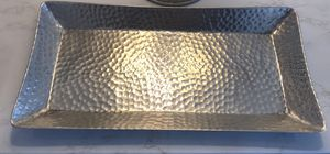 Hammered Silver Tray for Sale in Manassas Park, VA