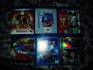 Disney bluray and bluray/dvd movies for Sale in Siloam Springs, AR