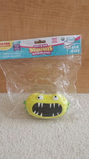 Brand New Soft 'N Slo Squishies Creature Club for Sale in St. Petersburg, FL