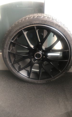 Brand new Michelin tire with rim for Sale in Woodbridge Township, NJ