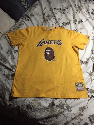 "Bathing Ape / BAPE ""Lakers"" Shirt for Sale in Reynoldsburg, OH"