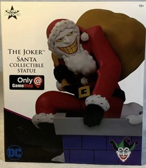 DC The Joker Santa Collectible Statue #621 of 4014 for Sale in Las Vegas, NV