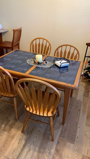 Kitchen table with six chairs for Sale in Utica, MI