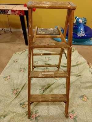 Ladder wood 4 ft for Sale in Jackson Township, NJ