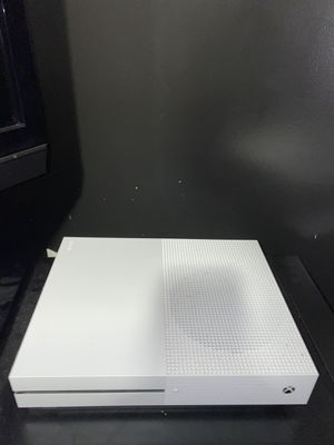 Xbox One S (1 TB) + 2 wireless controllers and cables for Sale in Hartford, CT