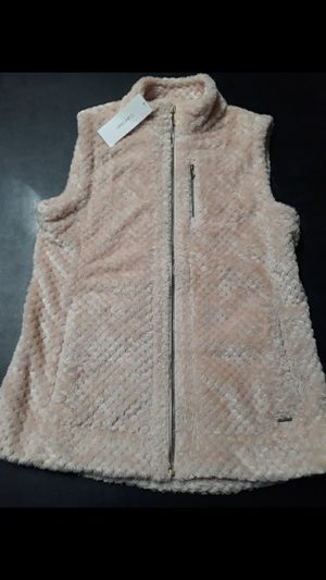 NWT Calvin Klein Pink Sherpa Vest Size Small for Sale in Queens, NY