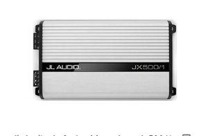 Jl Audio 500/1 car amp for Sale in Fair Oaks, CA