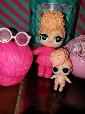Lol suprise goodie doll and lil goodie sister underwraps series for Sale in Melrose Park, IL
