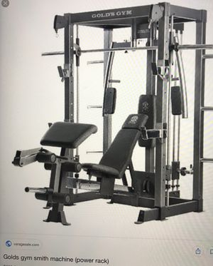 Used Gold Gym Pro Series smith Machine. for Sale in Silver Spring, MD