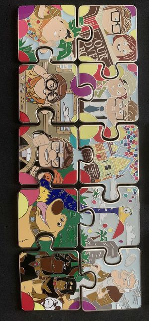 UP Puzzle Pin SET with CHASER for trade or sale for Sale in Los Angeles, CA