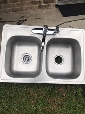 Kitchen sink with faucet for Sale in Dallas, TX