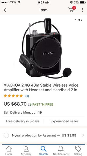 Voice Amplifier for Sale in Culleoka, TN