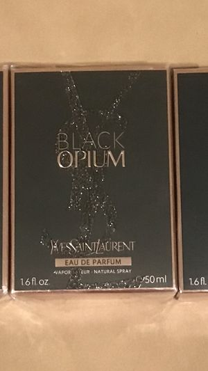 Black Opium 1.6 perfume/brand new for Sale in LAKE CLARKE, FL