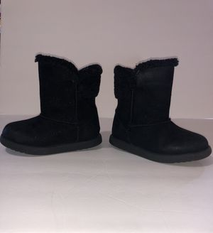 Size 9 little girls black glitter boots for Sale in Silver Spring, MD