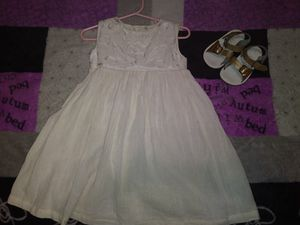 Mexican dress Ivory color dress for Sale in Industry, CA