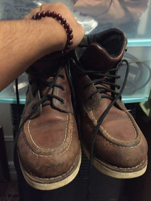 Red wings working boots size 8 for Sale in The Bronx, NY