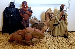 1990's Star Wars Action Figures x 5 for Sale in Goodyear, AZ