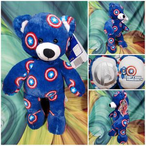"""❤NEW❤ Build a Bear Captain America Marvel Avengers Teddy Bear 16"""" Plush Toy for Sale in Dale, TX"""