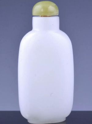 Antique Chinese Carved Glass Snuff Bottle for Sale in Miami Beach, FL