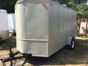 6' x 12' Enclosed Trailer with Reinforced Ramp for Sale in Coconut Creek, FL