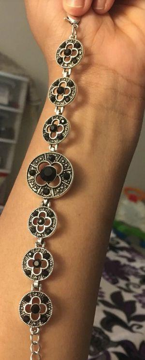 New black stone bracelet for Sale in New York, NY