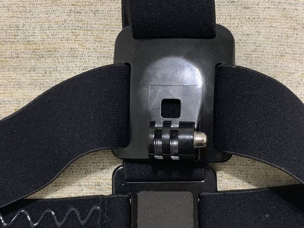 GOPRO BLACK OFFICIAL HEAD STRAP MOUNT CAMERA HOLDER
