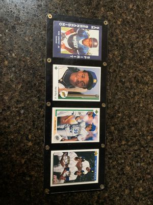 Rookie Ken Griffey set Baseball 2 gold cards for Sale in Federal Way, WA