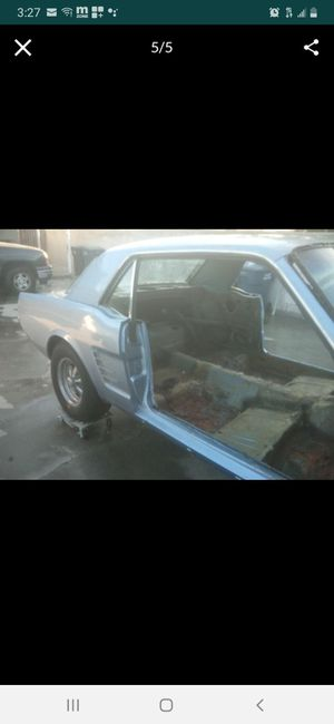 1965-66 MUSTANG EXHAUST WITH MUFFLERS for Sale in Paramount, CA
