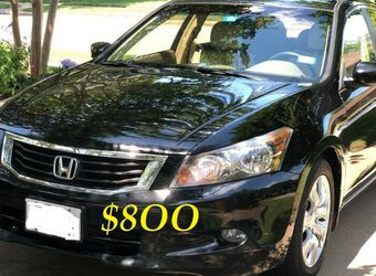 ✅🟢💲8OO URGENTLY Selling By Owner 2OO9 💚 Honda Accord Sedan EX-L Runs and drives great.Clean title! Mechanically perfect! very strong V6.🟢✅ for Sale in Boise,  ID