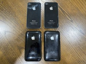 2 iPhone 4S and 2 iPhone 3GS for Sale in Sunnyvale, CA
