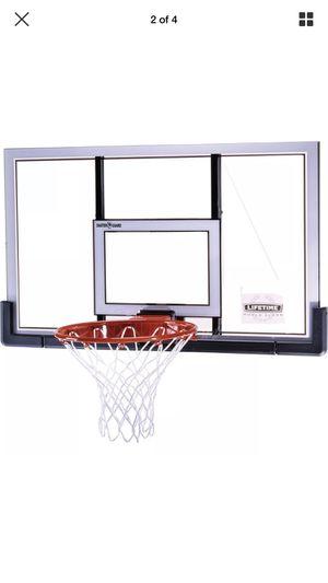 Lifetime basketball hoop court backboard & rim combo BRAND NEW SEALED! for Sale in Norwalk, CA