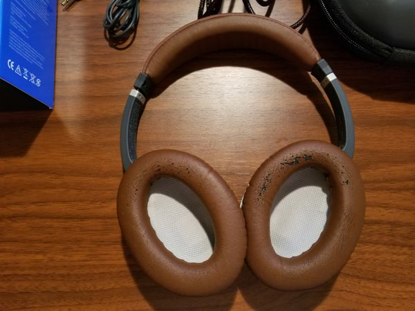 Bose QC15 QuietComfort 15 Limited Edition Brown Noise Cancellation Headphones