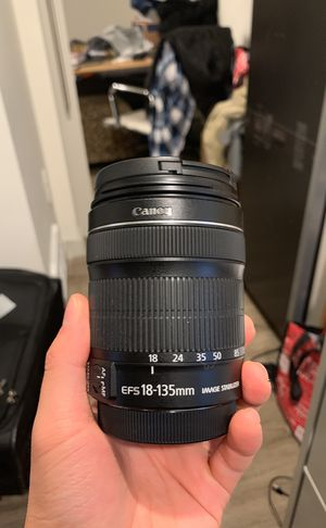Canon 18-135 lense for Sale in Seattle, WA