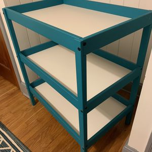 Chalk Painted IKEA Diaper Changing Table for Sale in Marietta, GA