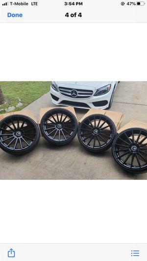 """22""""s black on black rims ,,i have 4,, for Sale in Orlando, FL"""