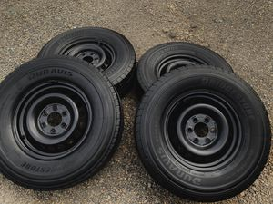Set of Bridgestone SUV/Truck Tires and Rims (245/75/r16) for Sale in Wilsonville, OR