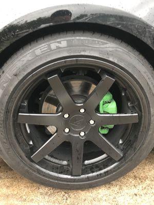 ferrada rims ..front /20x5 rear/20x10 for Sale in Houston, TX