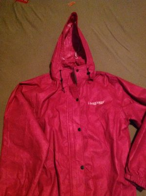 MWT FROGGS TOGGS RED RAIN JACKET for Sale in Overland, MO