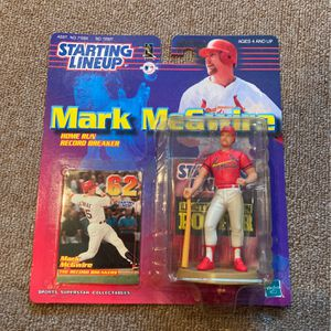 Mark Mcgwire 1999 Starting Lineup Action Figure for Sale in Shelton, CT