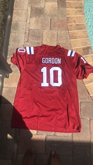 Brand new Nike NFL Josh Gordon Jersey 2XL New England Patriots Red for Sale in Wesley Chapel, FL